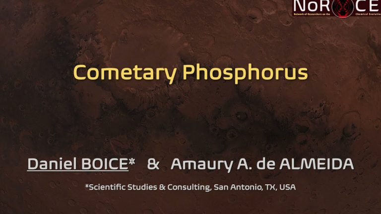 Cometary Phosphorus (Daniel BOICE)